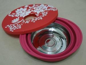 矽膠摺疊鍋子