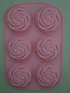 矽膠玫瑰造型模型