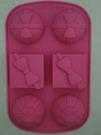 矽膠蝴蝶結造型模型