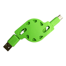 USB2.0 AM to Type C Retractable Cable
