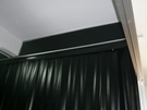 平面網狀黑色 PVC門簾