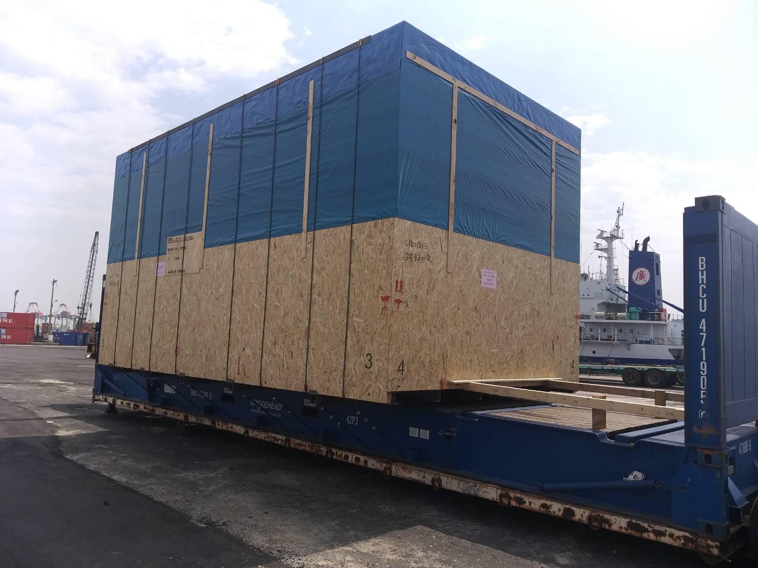 寄櫃, 貨櫃出售GP.HQ.RF, 超重超寬超高機台繫固與運輸, 倉儲