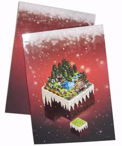 300P局部光聖誕卡
