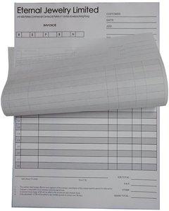2聯複寫訂貨單