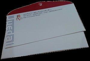 西式信封-100磅道林紙-爵代