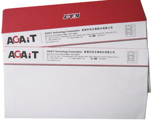 12K-歐式信封-100P道林紙