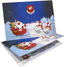 32開局部光聖誕卡