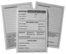 服務記錄卡(150P道林紙)