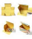蛋糕盒-一體成型
