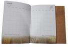 筆記本印刷-膠裝本。
