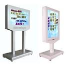 數位(橫置/直立)可移動門口來客迎賓廣告展示機