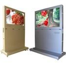 數位(橫置)可移動摺疊收納廣告展示箱車