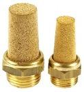 尖頭銅粉末消音器