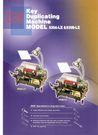 MODEL 530A-LⅡ  KEY DUPLICATING MACHINE