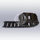塑鋼電纜保護鍊條_開放型