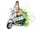 綠寶寶 - 前衛銀 電動機車 / 電動摩托車
