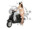 綠寶寶 - 酷炫黑 電動機車 / 電動摩托車