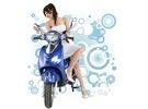 綠寶寶 - 寶石藍 電動機車 / 電動摩托車