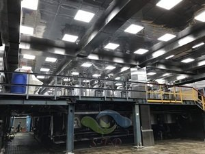 酒廠,發酵室 不銹鋼隔間天花板