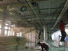 拆除輕鋼架天花板