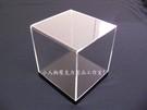 壓克力製品透明公仔盒黑底