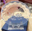 鴛鴦水晶盤