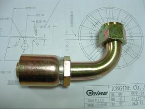 高壓軟管接頭(90度)-Hose Fittings