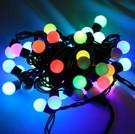 防水小圓球/七彩珍珠圓形 聖誕燈 5米50燈 新式插頭 可串接