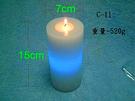 真蠟燭加電子蠟燭