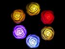 LED七彩絢麗玫瑰燈