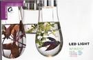 壁燈 現代玻璃水燈
