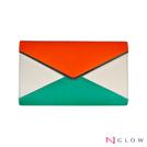 【 GLOW  】歐美風三色時尚手拿信封包