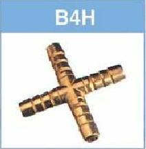銅插心十字接頭