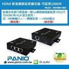 《✤PANIO國瑭資訊》HDMI高畫質多介面影音訊號延伸分配器100米