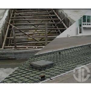 3.地磅结构制作及组装.   4.荷重元安装及配线. 制作流程: 1.
