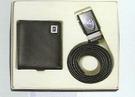 自動皮帶+短夾(禮盒)