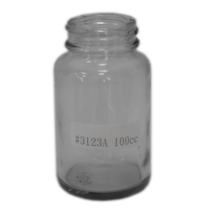 100cc 玻璃瓶 F3123