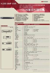 4路TVI Hybrid 網路數位監控錄影主機【SY-DS7204HTHI-K2】