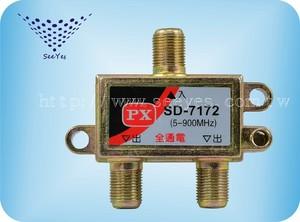 【SY-7172】1進2出電視分配器 5-900MHz