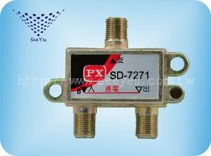 【SY-7271】2進1出電視分配器 5-900MHz