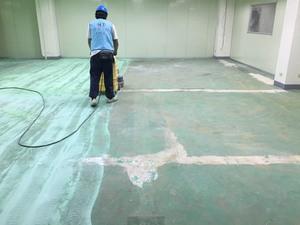 EPOXY無塵地板翻新工程 施工