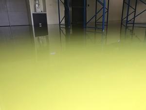 環氧樹脂EPOXY地板 流展地板施工 椰子綠