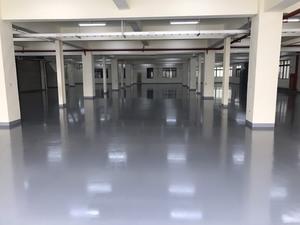 廠房地坪工程 - EPOXY環氧樹脂薄塗地板 施工