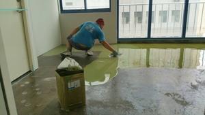 EPOXY樹脂砂漿整平工程 施工