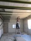 鐵屋除銹翻新噴漆工程 施工
