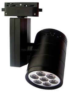 10W 7燈 LED軌道投射燈-全方位