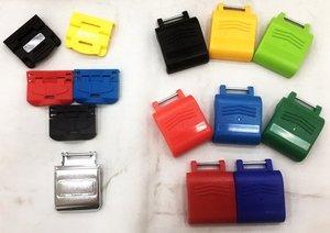 塑膠中空吹氣成型工具箱扣片(ABS PP 鐵扣片)
