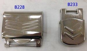塑膠中空吹氣成型工具箱扣片(金屬扣B228 B233扣片)