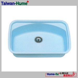 [Home-fix+台灣系統]YUNGYUIN壓克力人造石水槽HDB012-AR780-N無限服務