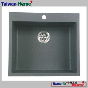 [Home-fix+台灣系統]YUNGYUIN花崗岩單槽HDB012-EKS585-N無限服務